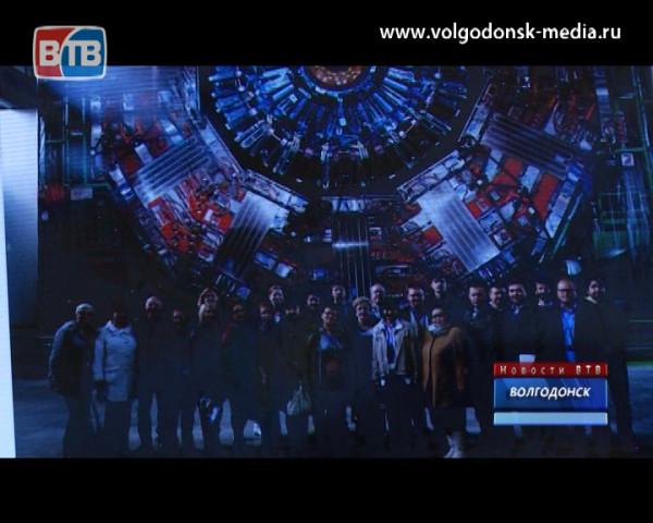 Преподавателю из Волгодонска удалось собственными глазами увидеть коллайдер