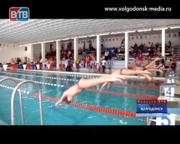 В Волгодонске проходит первенство Ростовской области по плаванию