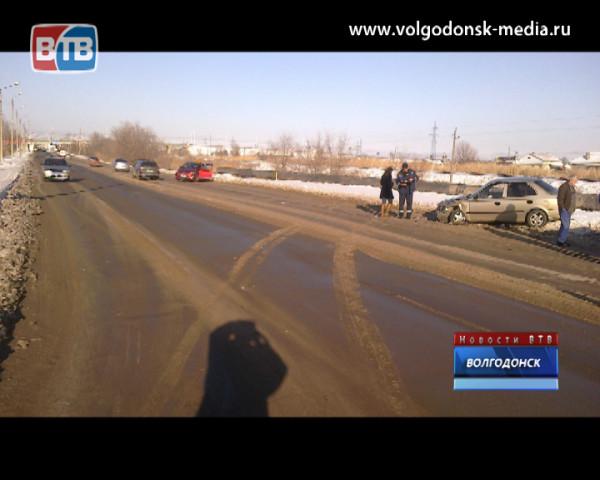 Водитель не уступил проезд автомобилю на главной дороге