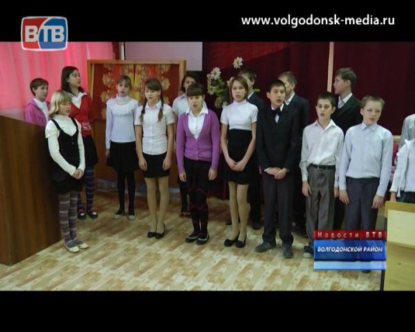 Волгодонский комбинат древесных плит в очередной раз принес радость воспитанникам школы-интерната поселка Виноградного