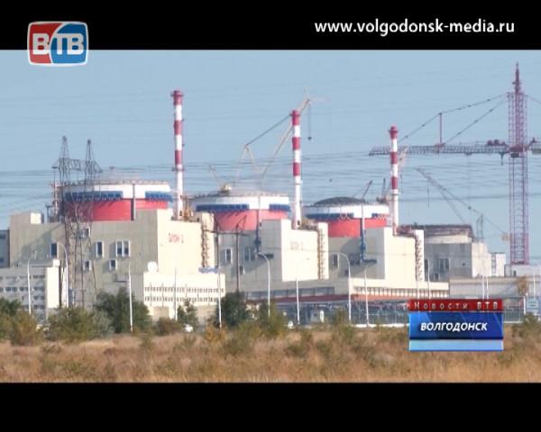 Третий энергоблок Ростовской АЭС выведен на минимально контролируемый уровень мощности