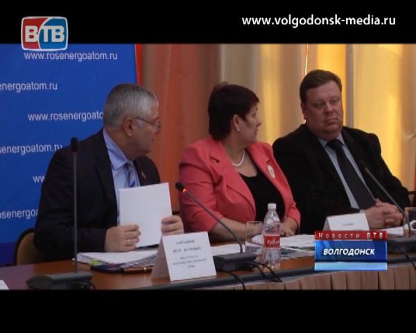 Пётр Горчанюк отчитался за 5 лет работы Волгодонской городской Думы