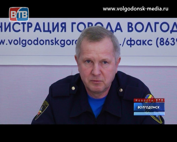 Глава Управления ГО и ЧС Волгодонска рассказал журналистам о готовности к войне, беженцах и бедственном положении Цимлянского водохранилища