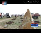 В Волгодонске состоялся традиционный день древонасаждений