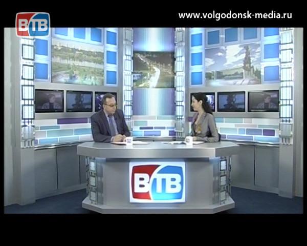 В гостях у Новостей ВТВ новый начальник волгодонского здравоохранения