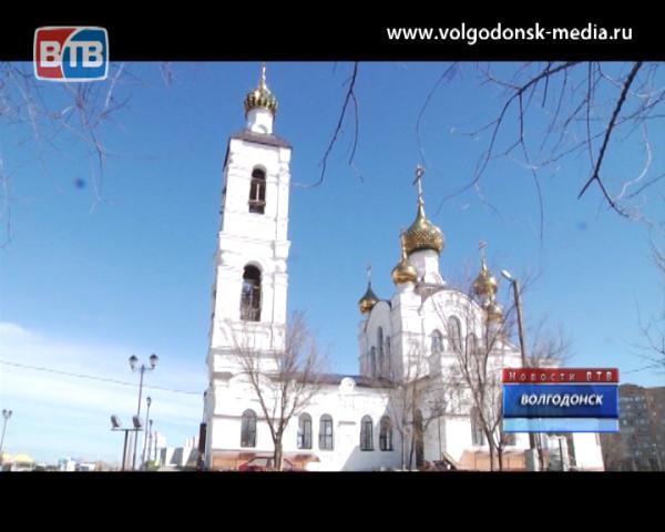 Свято-Троицкий храм приглашает горожан на службу в Светлое Христово Воскресение
