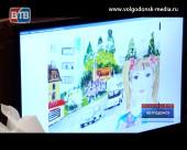 В Волгодонске в третий раз состоялся конкурс детских рисунков, лучшие из которых украсят остановочные комплексы города
