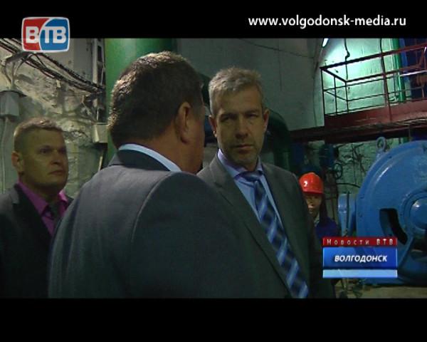 Андрей Иванов посетил волгодонский водозабор