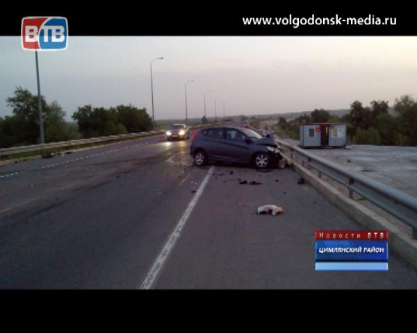В Цимлянском районе произошло серьезное ДТП