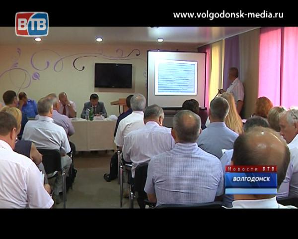 В Волгодонске ищут пути спасения Цимлянского водохранилища