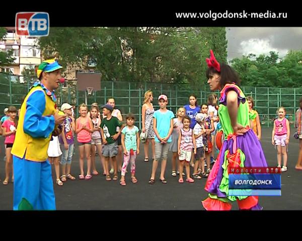 Директор «Волгодонскмежрайгаз» организовал празднование дня молодежи в третьем микрорайоне