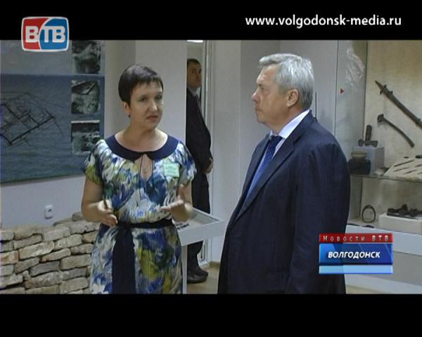 Василий Голубев пообещал заняться вопросом возрождения аэропорта