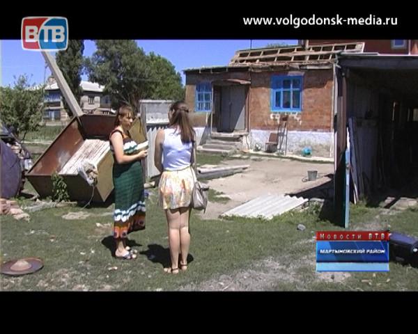 Многодетная семья осталась без крыши над головой