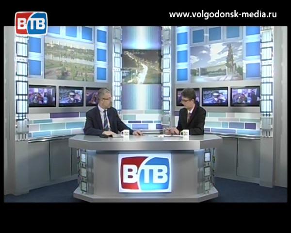 Гость студии глава Администрации г. Волгодонска Андрей Иванов