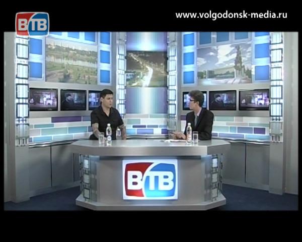 Гость студии основатель радио «Volgodonsk Rock» Виктор Ковин