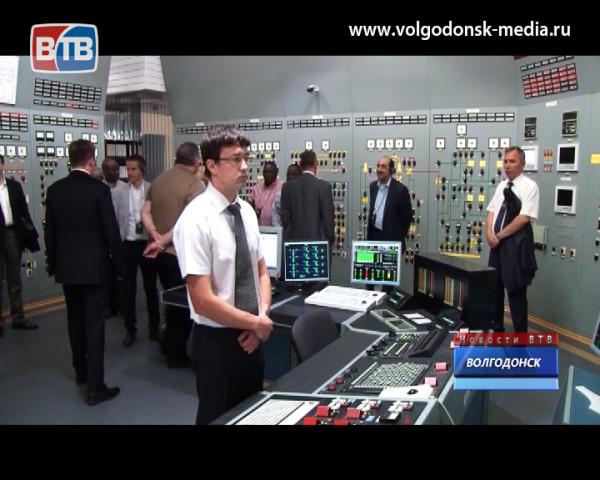 На Ростовской АЭС побывали послы 20 стран и представители штаб-квартиры МАГАТЭ