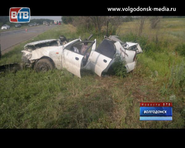 Пьяный водитель перевернулся на трассе «Волгодонск-Дубовское»