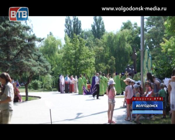 В Волгодонске отмечают день семьи, любви и верности