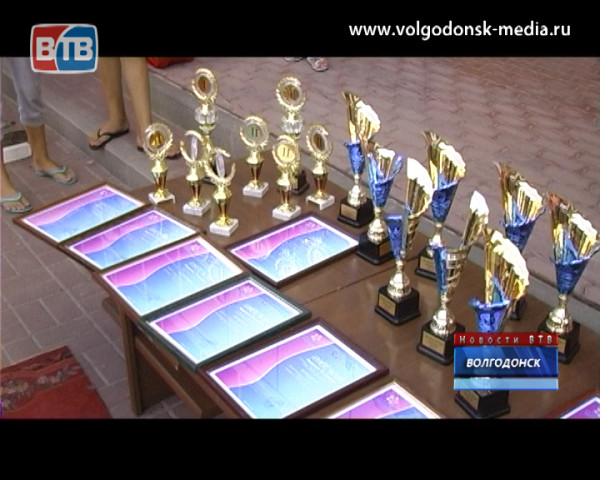 В Волгодонске встречают победителей