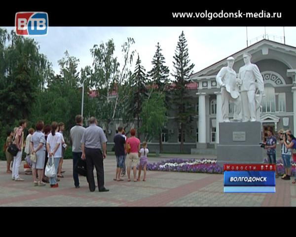 В Волгодонске прошла первая автобусная экскурсия