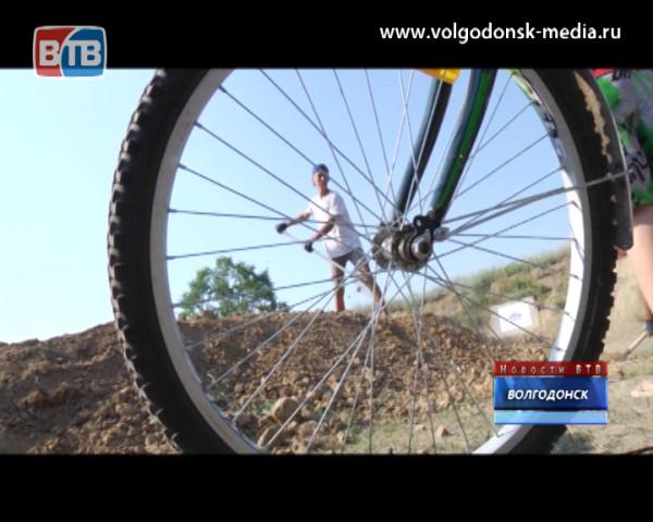 В Волгодонске появилась площадка для экстремальной езды на велосипеде