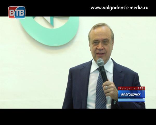Министр ЖКХ области Сергей Сидаш посетил водоканал