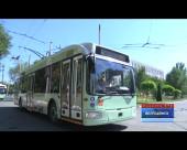 В Волгодонске на линию выпустили 10 новых низкопольных троллейбусов