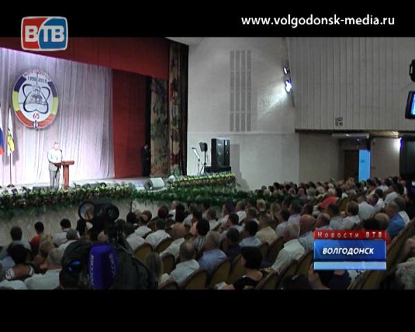 В честь юбилея Волгодонска состоялось вручение губернаторских наград