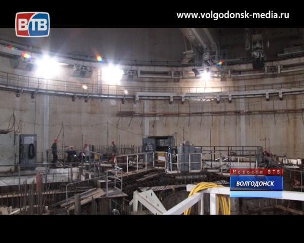 Энергоблок №4 Ростовской АЭС готовится к «большому» монтажу