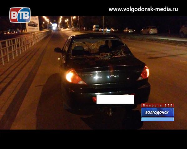 Вчера поздно ночью в Волгодонске сбили пешехода на «зебре»