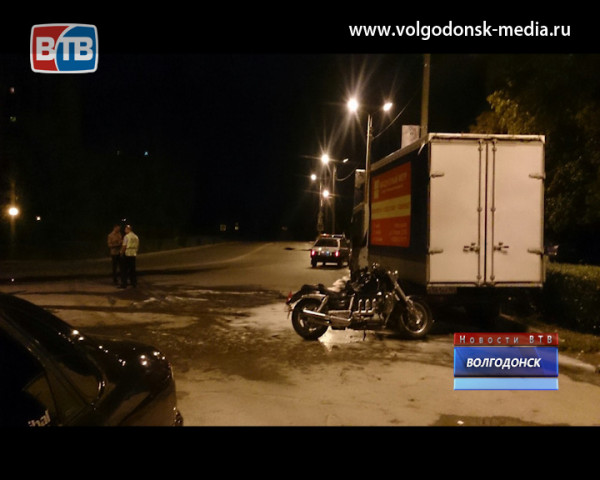 В результате ДТП на Кошевого загорелся мотоцикл