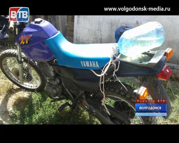 Полиция просит откликнуться очевидцев угона мотоцикла