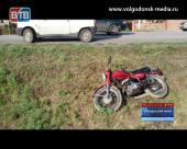 Несовершеннолетний мотоциклист угодил под колеса ВАЗа в Романовской