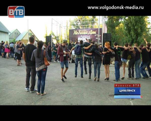 В Цимлянске состоялся рок-фестиваль «Не тихий Дон — 2015»