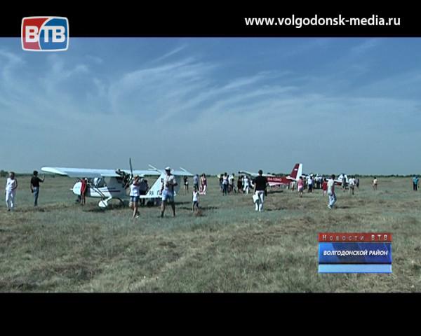 В Романовской отметили День авиации