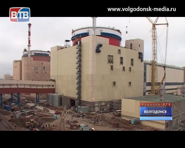 Третий блок Ростовской АЭС введен в промышленную эксплуатацию