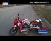 ДТП по вине пьяного мотоциклиста