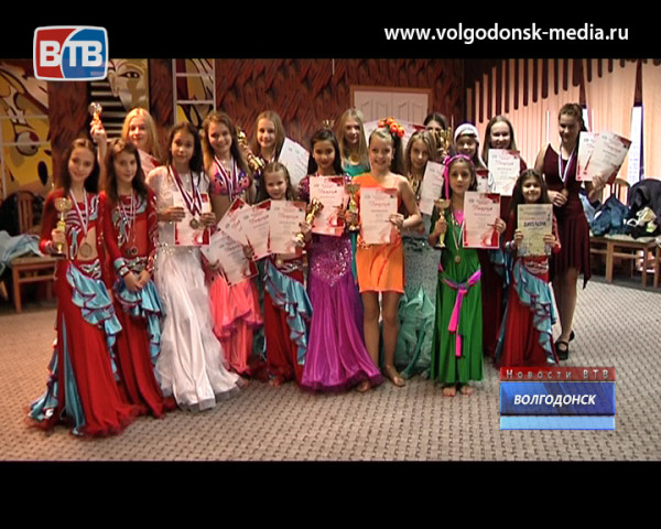 Студия восточного танца «Жасмин-7» пополнила копилку своих наград