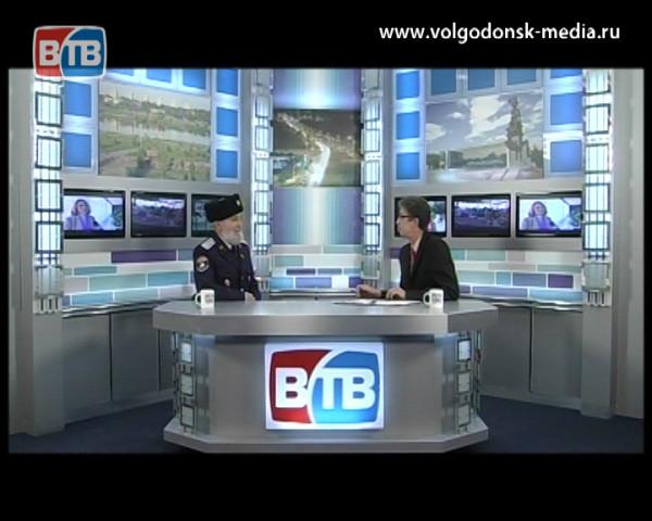 Гость в студии Атаман Волгодонского городского казачьего общества   Владимир  Бардаков