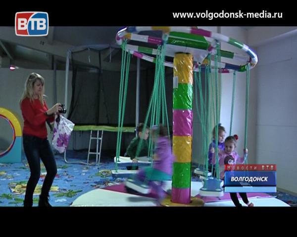 В Волгодонске открылся первый масштабный центр детских развлечений