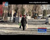 Из пяти капитально ремонтируемых в Волгодонске дорог работы закончены лишь на одной
