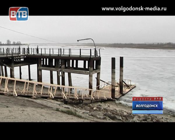 Волгодонский порт готов к празднику Крещения Господнего