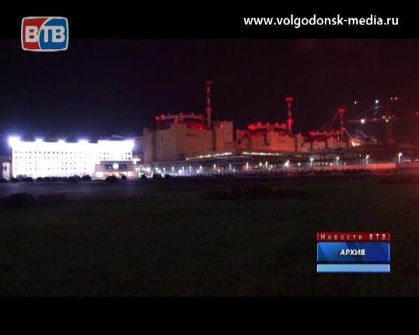 Второй энергоблок Ростовской АЭС остановлен