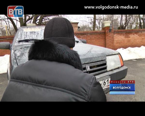 За выходные злоумышленники сняли порядка 40 госномеров с авто волгодонцев
