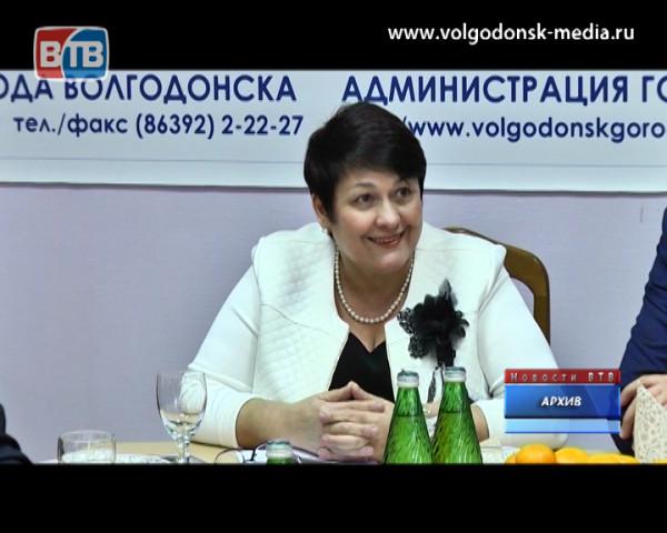 Юбилей сегодня отмечает первая женщина, ставшая главой Волгодонска