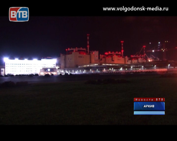 Ростовская АЭС снова работает на полную мощность