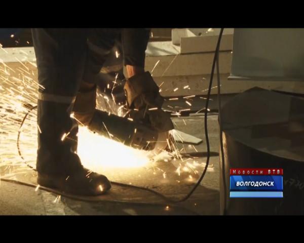 На четвертом блоке Ростовской АЭС начали сварку главного циркуляционного трубопровода