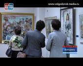 В новом здании музея открылась выставка подлинников Никаса Сафронова
