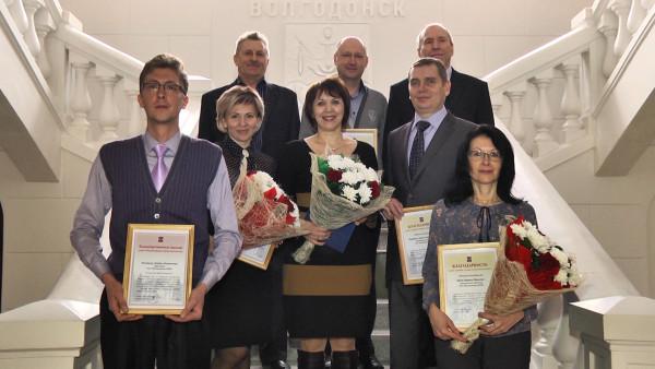 Глава Администрации Волгодонска поздравил коллектив Телекомпании ВТВ с 25-летием