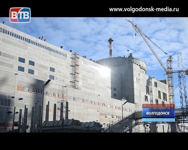 На четвертом блоке Ростовской АЭС идет монтаж главного циркуляционного трубопровода